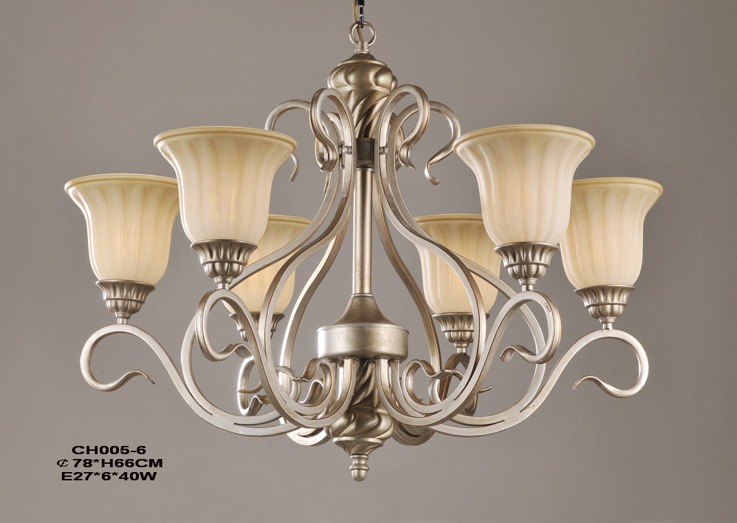 Outlet 6-Light Champagne Schonbeck Chandelier at Low Prices