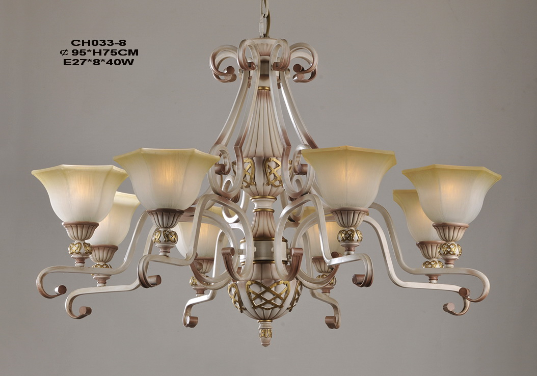 Best Portfolia 8-Light Rust Iron European Chandeliers at Cheap Prices