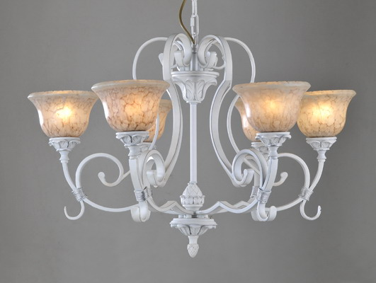 Best 6-Light White Contemporary Chandeliers