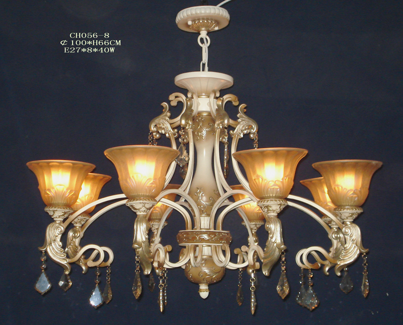 Perfect 8-Light Antique Effect European Chandeliers of Sale