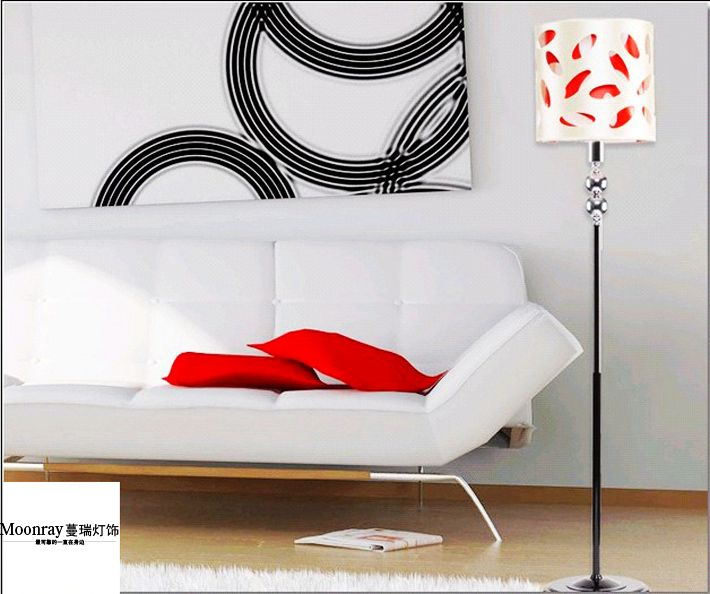 Modern Hollowed-Out Adjustable Floor Lamps Available at Cheap Price