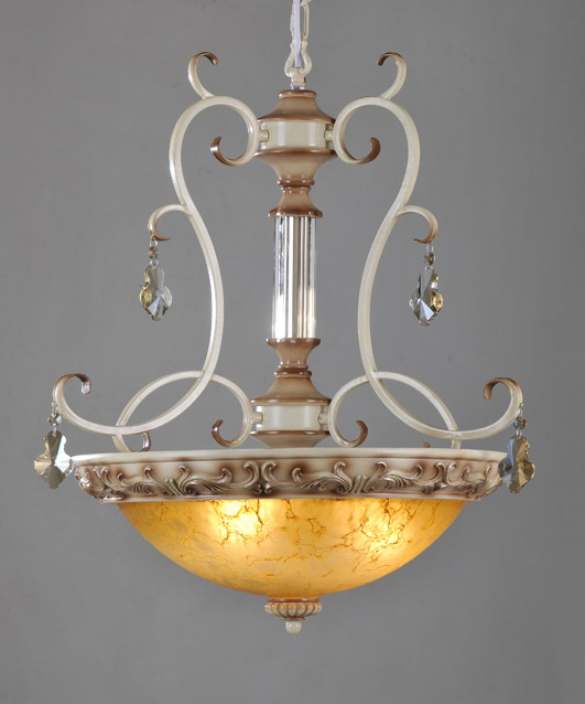 3-Light Rust Designer Kitchen Chandeliers On Sale With