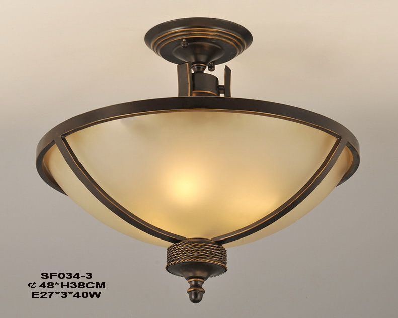 Delicate 3-Light Antique Bronze European Kitchen Chandeliers