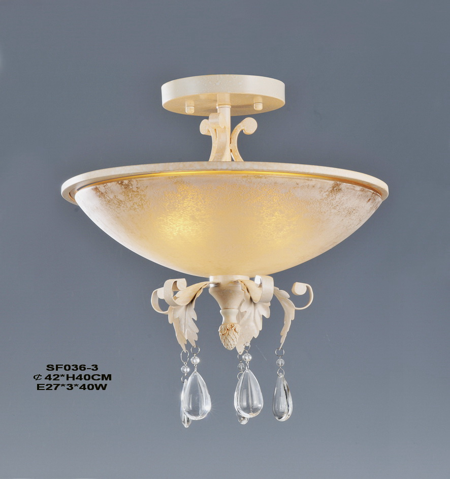 3-Light Ivory Modern European Kitchen Chandeliers at Cheap Prices