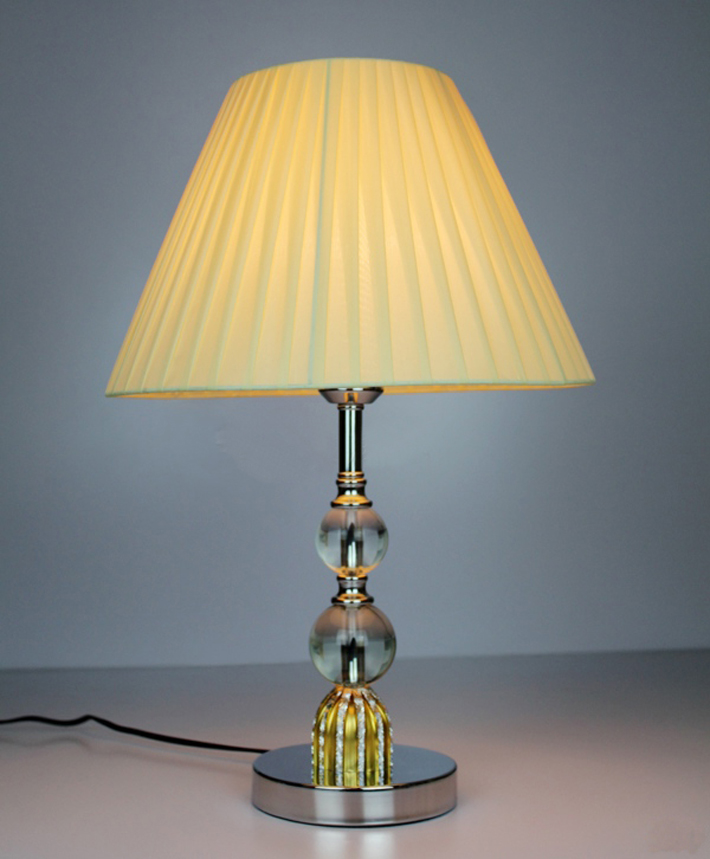 Modern Table Lamps with Crystal balls and Aluminum Alloy - Click Image to Close