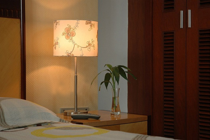 Buy High Quality Art Printed Adjustable Table Lamps Chrome