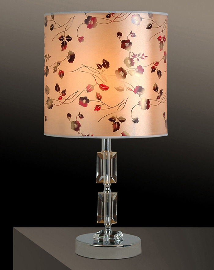 High Quality Printed K9 Crystals Chrome Table Lamps at Cheap Prices