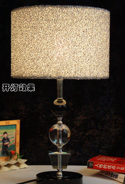 Cloth Art K9 Crystal Table Lamps at Low Prices