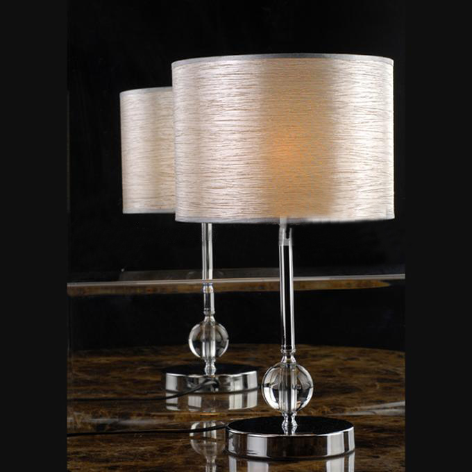 Delicate Line Cloth Art Transparent Modern Table Lamps