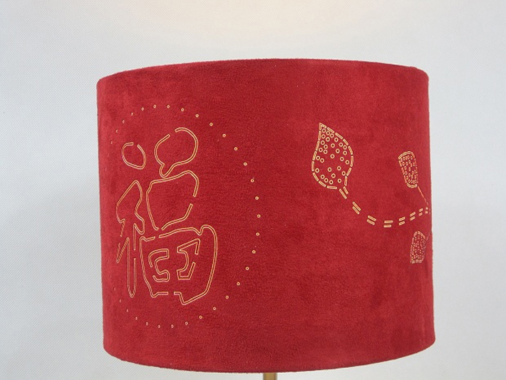 Red Adjustable Study Table Lamp, Modern table lamp