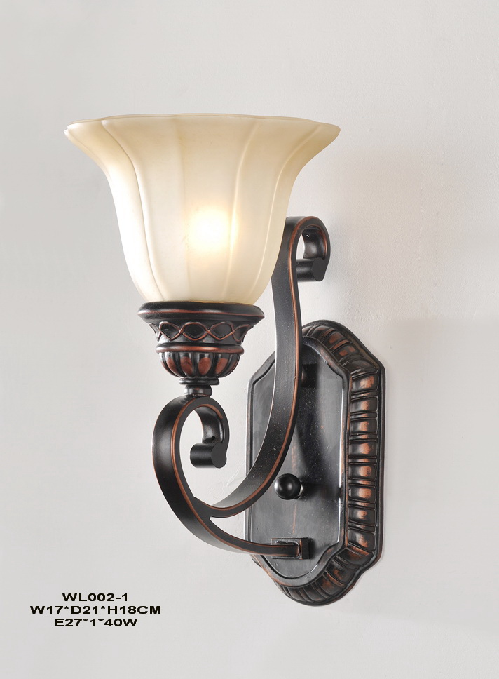 1-Light Antique Copper Wall Lamps with Luring Discounts