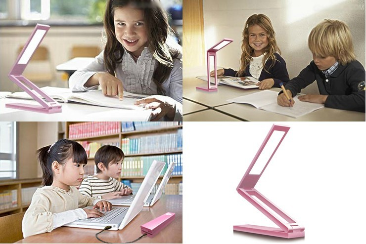 Colorful Foldable Eye Protection Lamps